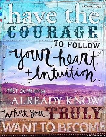 Corazón e intuición, una fórmula simple
