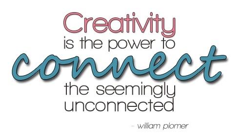 La creatividad es el poder de conectar lo aparentemente desconectado