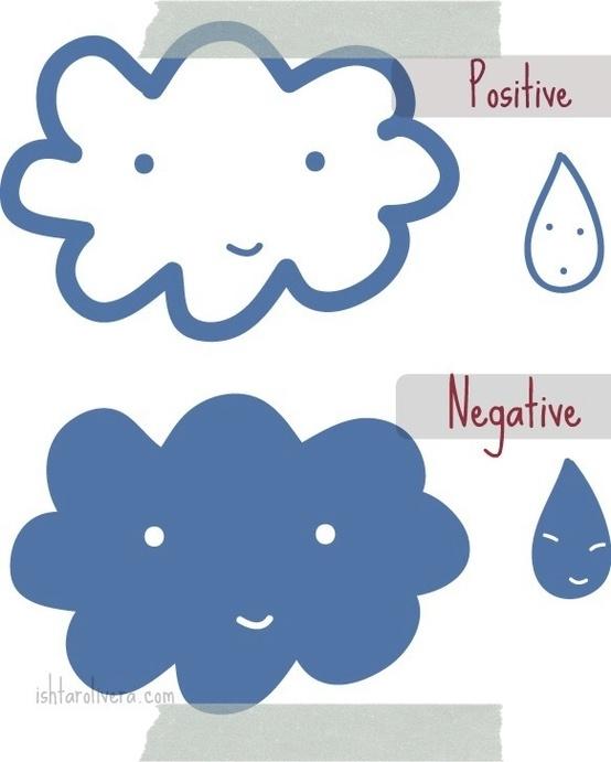 Tu eliges: positivo o negativo