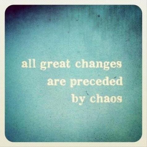 ¿Podemos aprender de los momentos de caos?