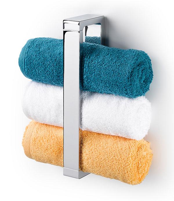 Toallero de baño en posición vertical de la colección MIA de Baño Diseño