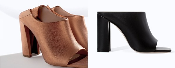 Zapatos destalonados: mules