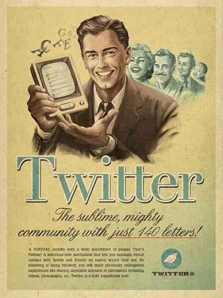 Twitter, una auténtica revolución para a comunicación creativa