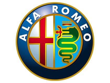La serpiente del logo de Alfa Romeo contiene a un hombre en la boca