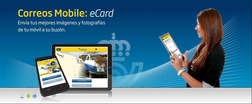 La app de Correos Ecard es un buen ejemplo de evolución off a on