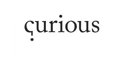 El logo de curious contiene simbología gráfica de forma sutil