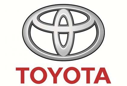 El símbolo de Toyota puede contener a todas sus letras