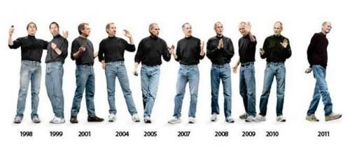 El estilo propio de Steve Jobs podría enmarcarse como normcore
