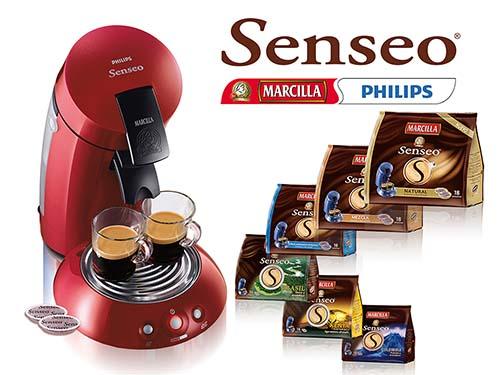 Co-branding entre Philips y Marcilla: Senseo