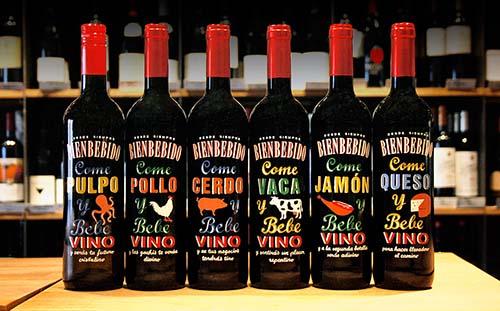 Bienbebido, una propuesta muy creativa de vinos de Vintae