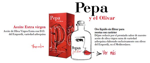 Me encanta el branding de la marca ByPepa
