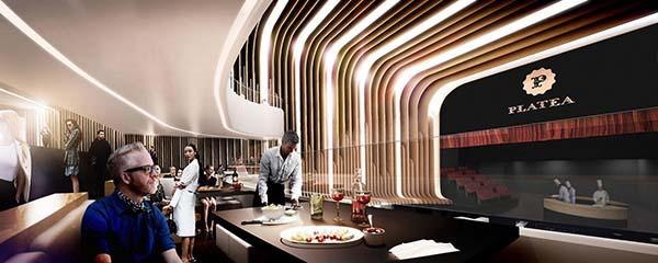 Platea Madrid, un concepto de ocio gastronómico y de ocio lleno de magia