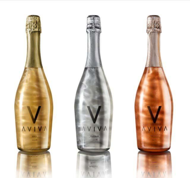 Productos singulares: Aviva vino espumoso con efecto llama