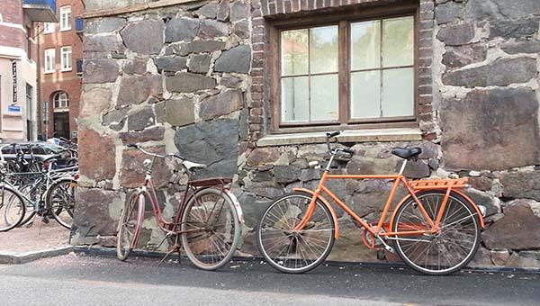 Ciclismo urbano en Gotemburgo (Suecia)