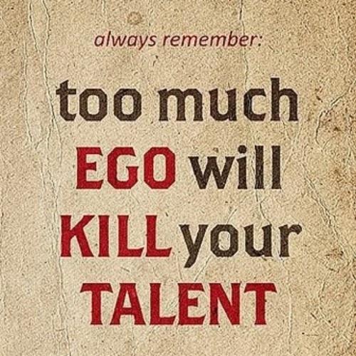 El ego también es creer que lo que decimos interesa