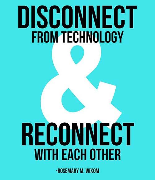 Conexión y desconexión, una auténtica realidad