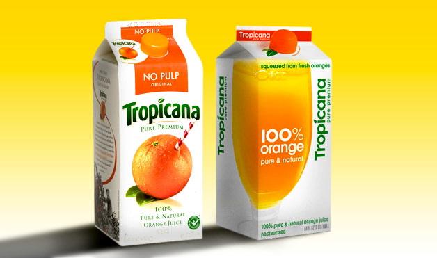 Tropicana, un claro ejemplo de error estratégico en rebranding