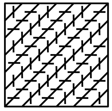 Distorsión de líneas paralelas