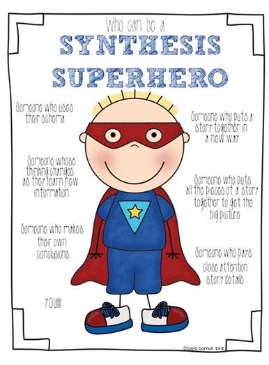 Si quieres, puedes convertirte en un superhéroe de la síntesis