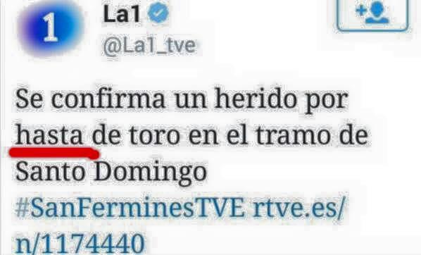 El tuit de la discordia de Televisión Española