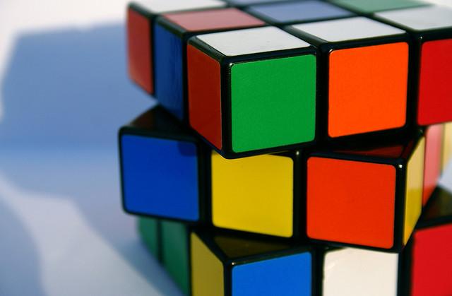 El entorno competitivo y el Cubo de Rubik