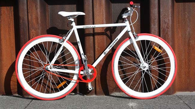 Productos singulares: Santa Fixie Bicicletas