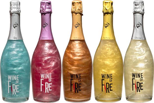 Productos singulares: Wine of Fire vino con efecto llama