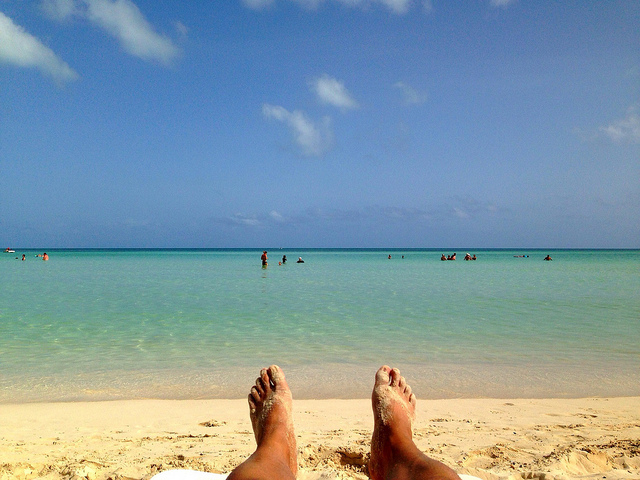La playa como escenario de decisión de compra