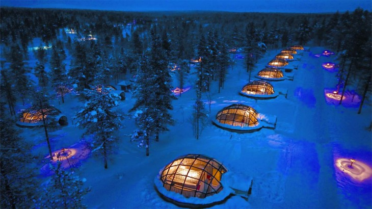 Productos singulares: Hotel Kakslauttanen Finlandia