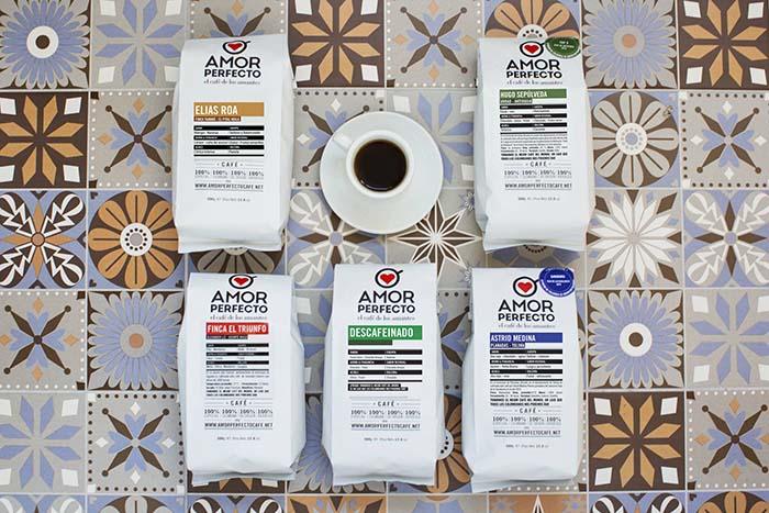 Productos singulares: Amor Perfecto Café