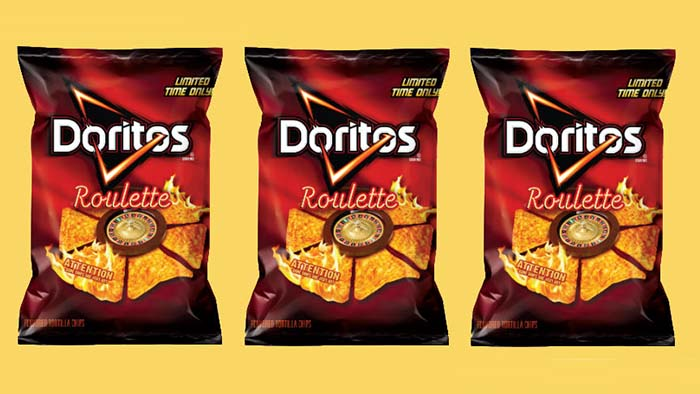Productos singulares: Doritos Roulette