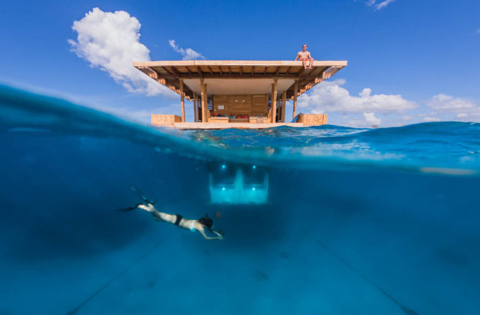 Productos singulares: Underwater Room at The Manta Hotel