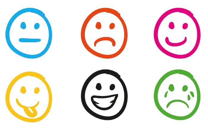 Modelos emocionales: Las seis emociones primarias