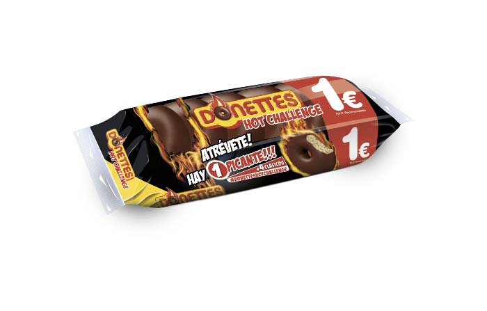Productos singulares: Donettes Hot Challenge Pack