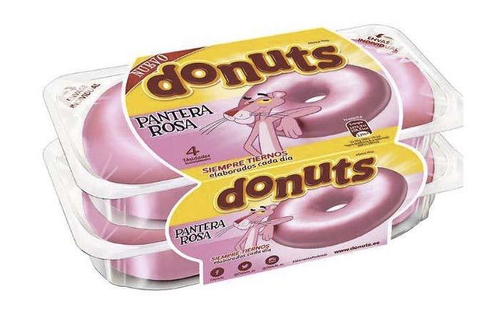 Productos singulares: Donuts Pantera Rosa Fusión