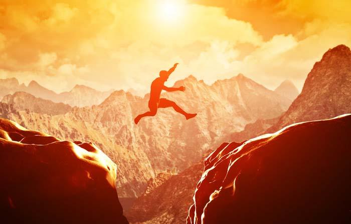 Si el reto fuera fácil, cualquier otra persona podría realizarlo