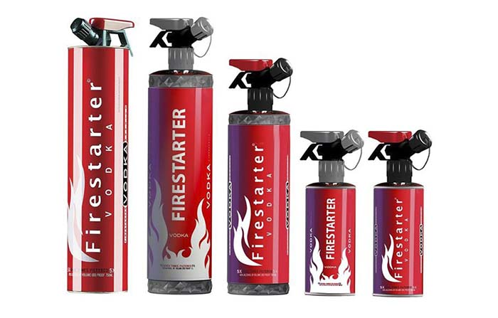 Productos singulares: Firestarter Vodka Super Premium