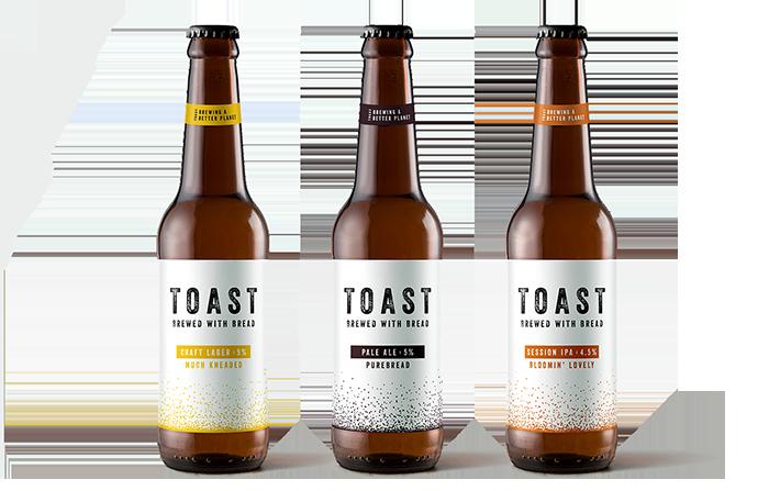 Productos singulares: Toast Ale, cerveza elaborada con pan tostado