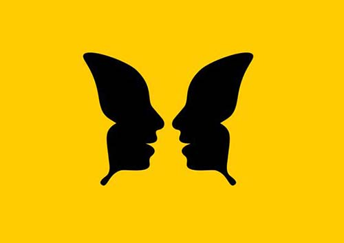 Leyes de la Gestalt: principio de simetría