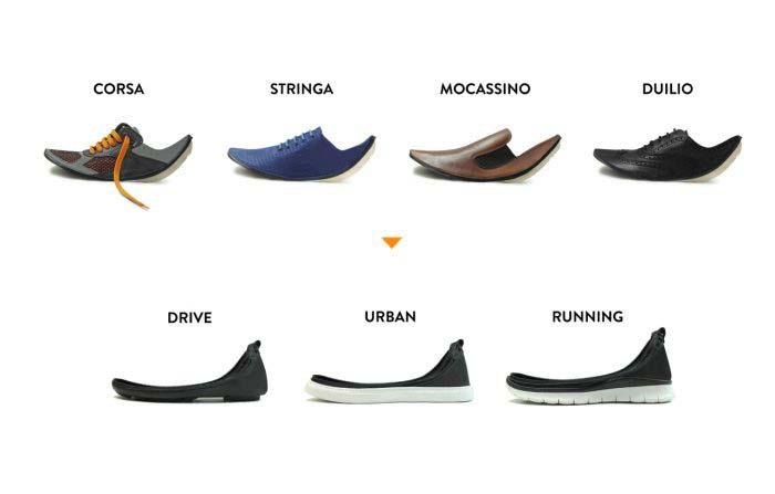 Productos singulares: Shooz zapatos desmontables para combinar