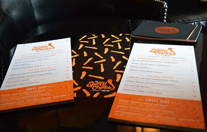 Productos singulares: The Spotted Cheetah, el primer restaurante Cheetos