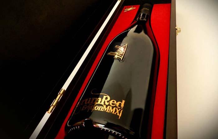 Productos singulares: Aurum Red el vino más caro de España