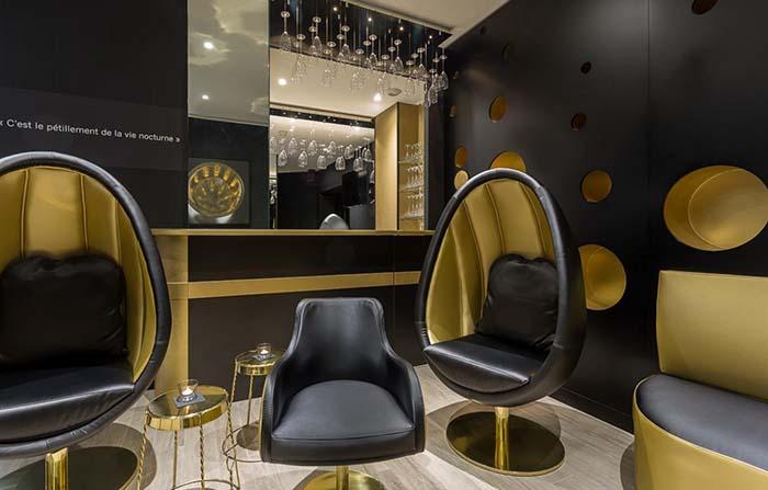 Productos singulares: Les Bulles de Paris Hotel Champagne