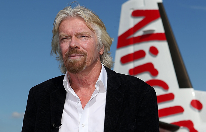 Referentes clave del mundo del marketing: Richard Branson