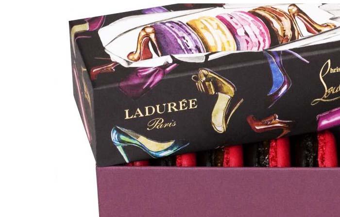 Ejemplos de cobranding entre marcas: Laduree y Louboutin