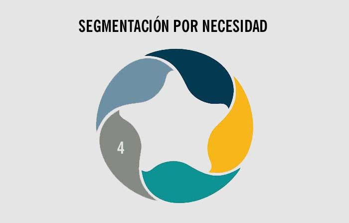 Estrategias de segmentación de mercados: Necesidad