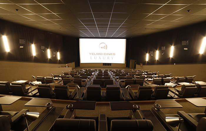 Productos singulares: Yelmo Luxury, el cine de lujo