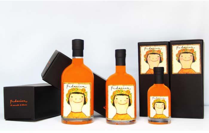 Productos singulares: Arancello Federica de naranja de Valencia