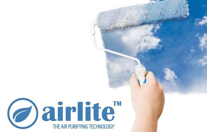 Productos singulares: Airlite, pintura natural que purifica el aire