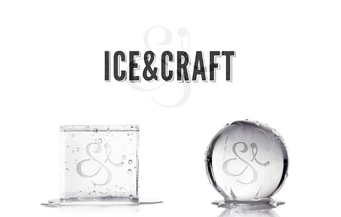 Productos singulares: Ice and Craft, hielo premium de diseño